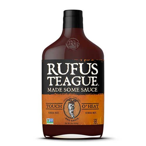 Rufus Teague - Touch Of Heat BBQ Sauce