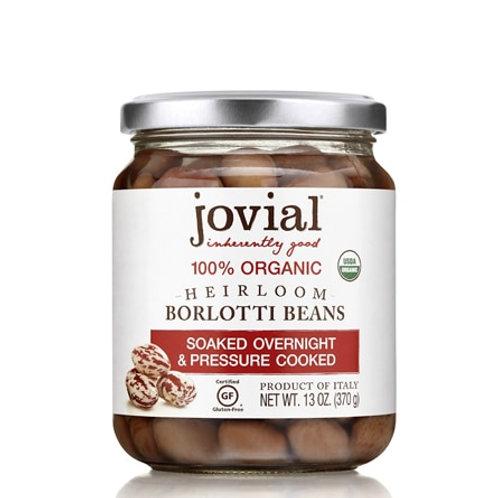 Jovial Organic Borlotti Beans, 13 Ounce