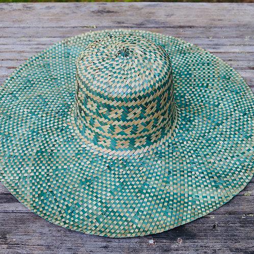 Large Sun Hat - Light Blue