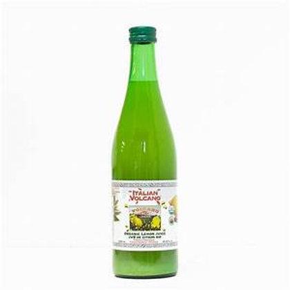 Italian Volcano 100% Organic Lemon Juice 500ml