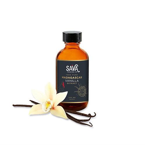 Sava Madagascar Vanilla Extract 2 oz