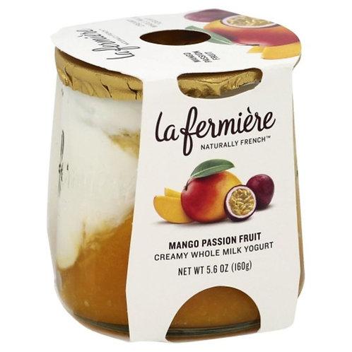 La Fermiere Creamy Whole Milk Yogurt Mango Passion Fruit