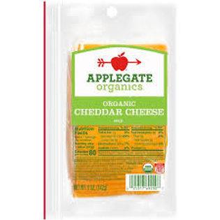 Organic Cheddar Cheese, Sliced - 5 oz