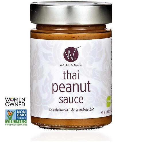 WATCHAREE'S Thai Peanut Sauce | Vegan | Authentic Traditional Thai Recipe