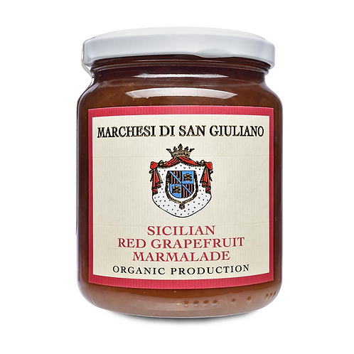 Organic Sicilian Red Grapefruit Marmalade - Marchesi di San Giuliano