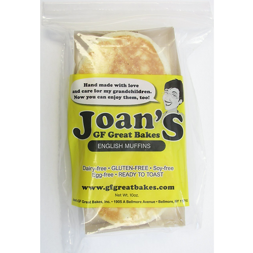 Joan's Gluten Free English Muffin