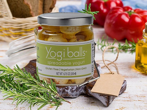 Yogi Balls Marinated Yogurt
