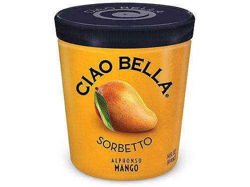 Ciao Bella Mango Sorbetto - pint
