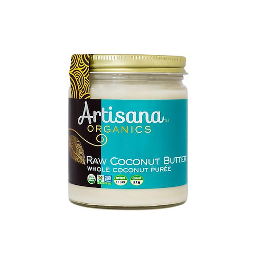 Coconut Butter Raw (Organic) - 8 Oz