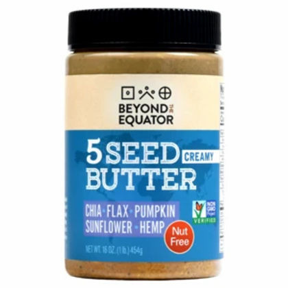 Beyond the Equator Creamy 5 Seed Butter