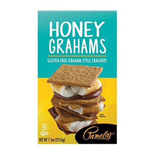 Pamela's Products Gluten Free Graham Crackers, Honey