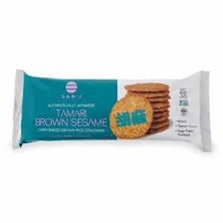 Brown Rice Cracker - Tamari Brown Sesame
