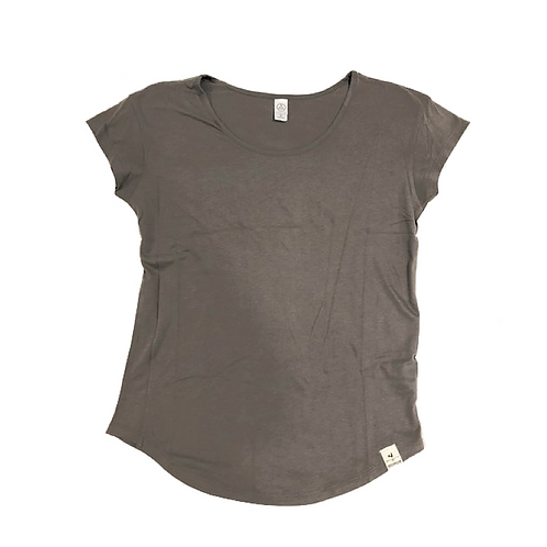 Women's Relaxed Fit Tee, Gray