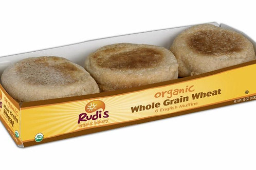 Rudi's Organic Whole Wheat English Muffins
