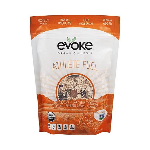 Evoke Organic Muesli Cereal, Athlete Fuel, 12 oz