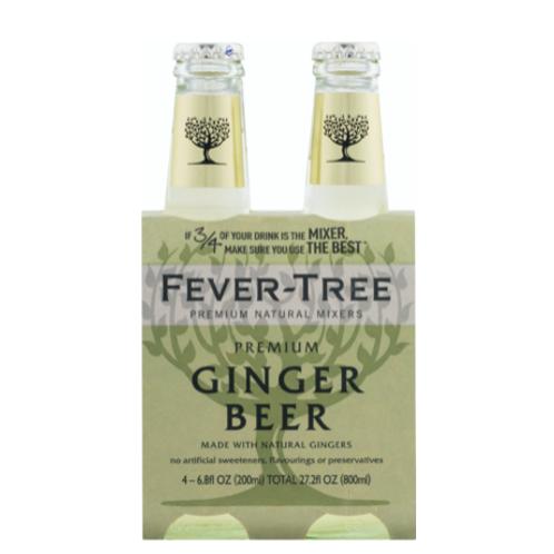 Fever-Tree Premium Ginger Beer - 4PK