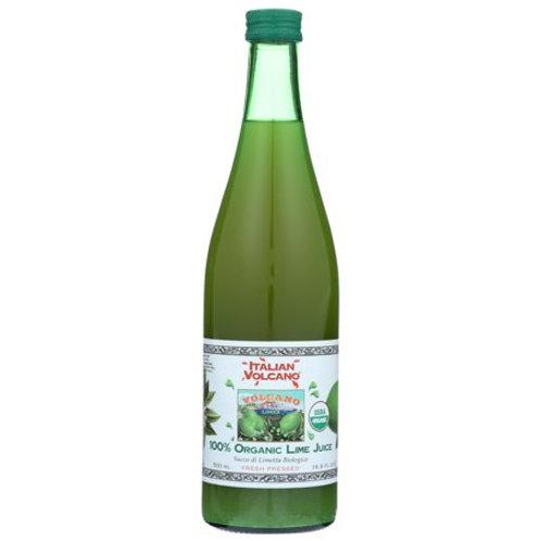 Italian Volcano 100% Organic Lime Juice 500ml