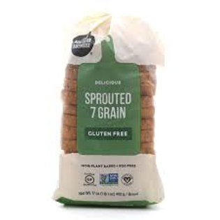 Sprouted Seven Grain Bread, Gluten Free