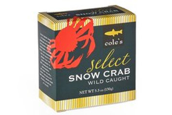 Cole's Wild Caught Snow Crab 5.3 oz