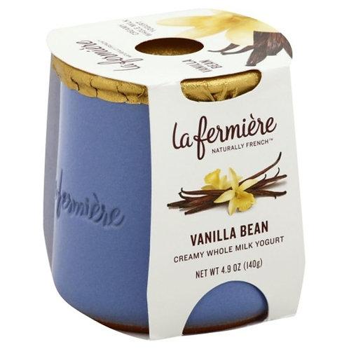 La Fermiere Creamy Whole Milk Yogurt Vanilla Bean
