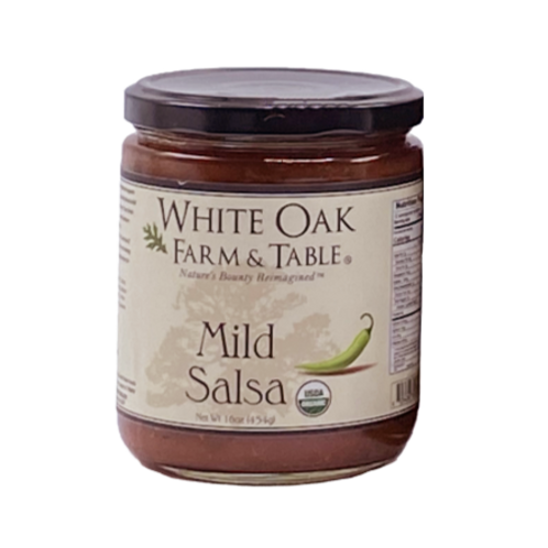 White Oak Farm & Table - Salsa Mild Org