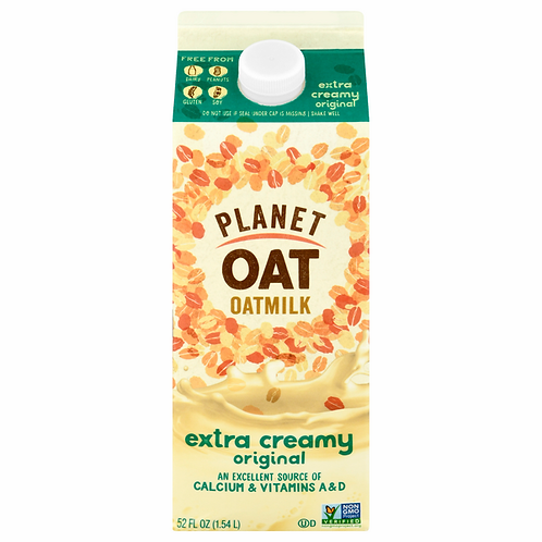 Planet Oat Milk, Organic