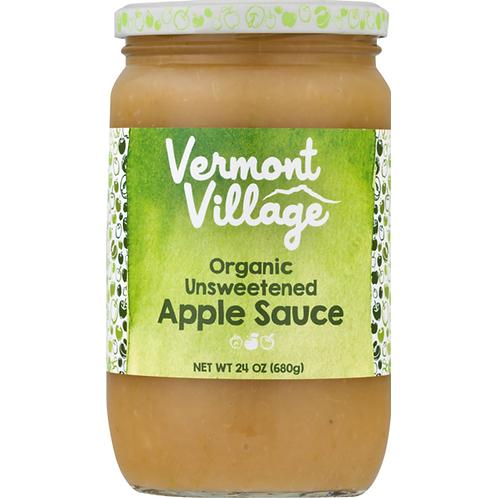 Vermont Village Cannery - Apple Sauce Unsweetened Organic