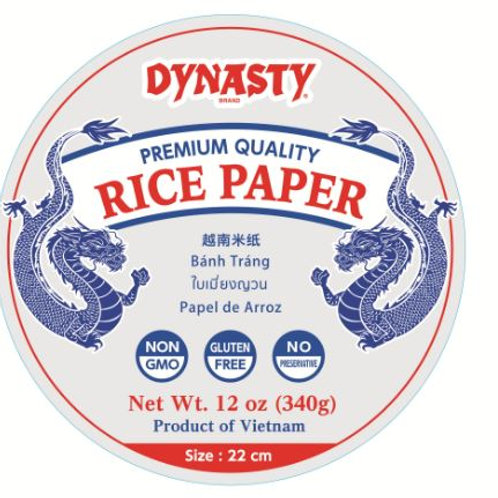 Dynasty White Rice Paper, 12 Ounce (Pack of 12)