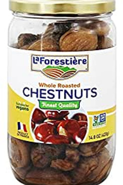 La Forestiere Whole Roasted Chestnuts - 14.8 oz