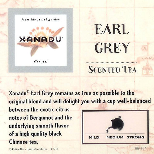 Xanadu Earl Grey Tea - 1oz
