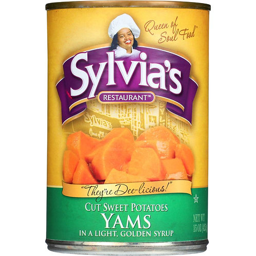 Sylvia'sYams in a Golden Syrup