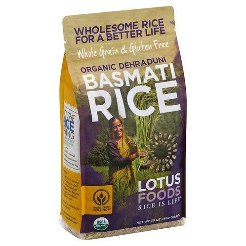 Lotus Foods Rice, Organic Dehraduni Basmati