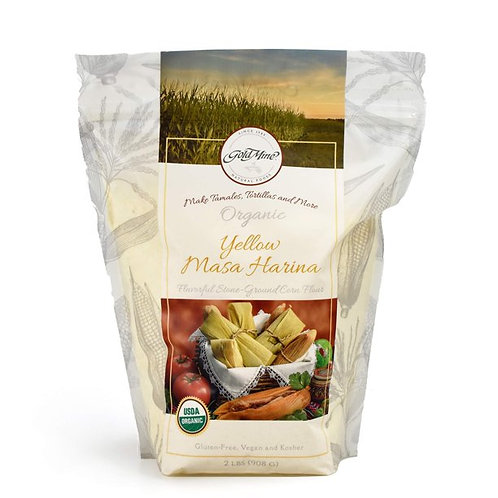 Goldmine Organic Yellow Masa Harina 2 lb
