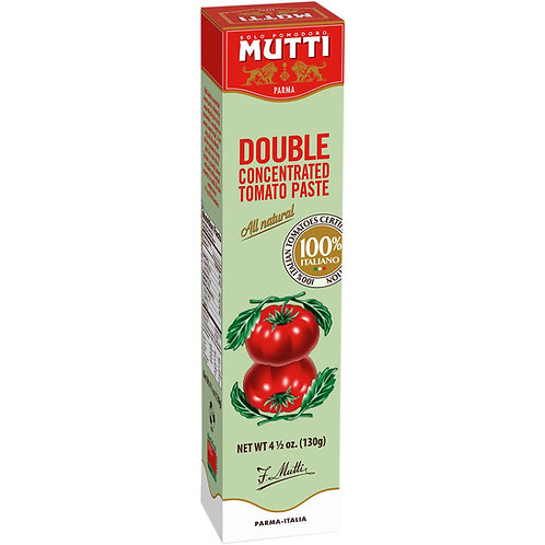 Double Concentrated Tomato Paste - Vegan - 4.5 OZ