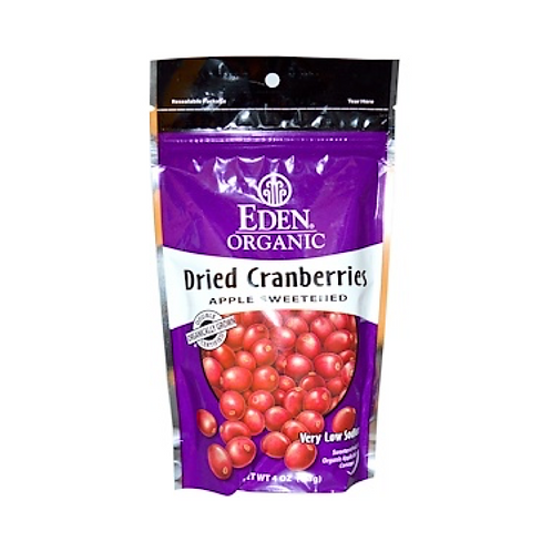 Eden Foods - Organic Dried Cranberry Snack Packs, 1 oz