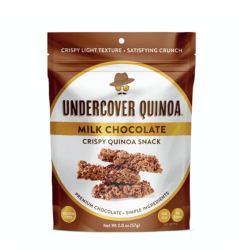 Chocolate Crispy Quinoa Snack - milk chocolate