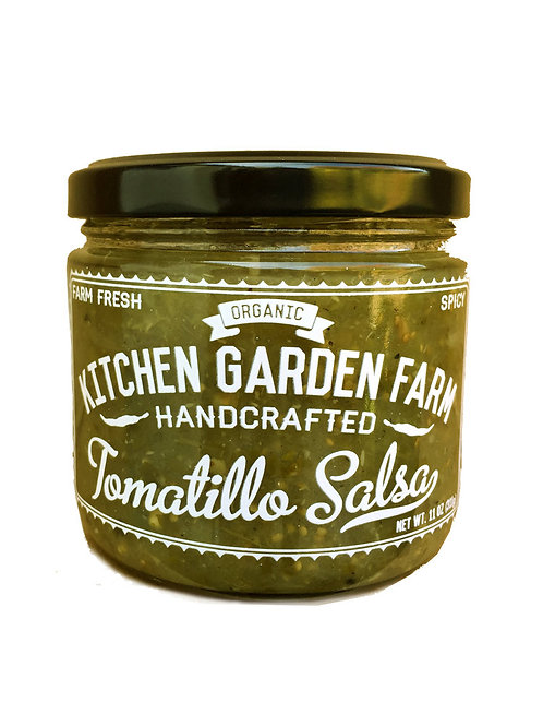 Kitchen Garden Farm Tomatillo Salsa 11 oz