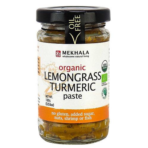 Organic Lemongrass Turmeric Paste 3.53 oz