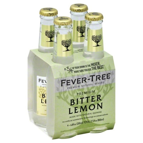 Fever-Tree Premium Bitter Lemon - 4 CT
