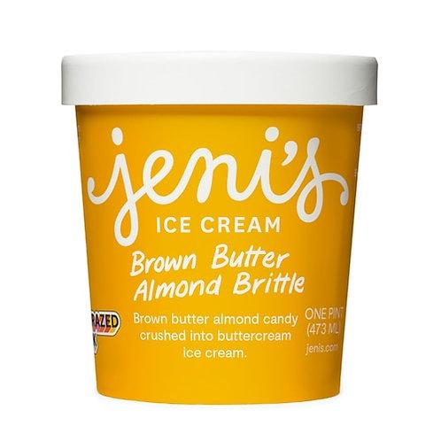 Jeni's Brown Butter Almond Brittle Ice Cream Pint