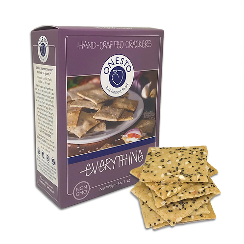 Onesto Crackers, Everything