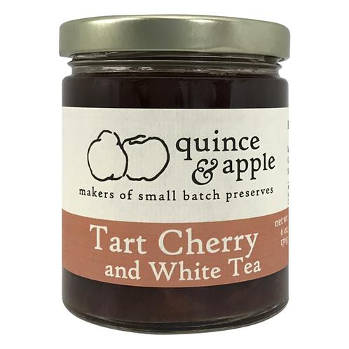 Tart Cherry & White Tea Preserves