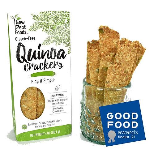 Play it Simple Quinoa Crackers 4 oz