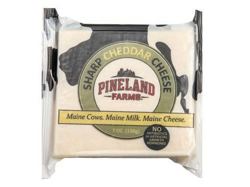 Pineland Farms Sharp Cheddar 7 oz