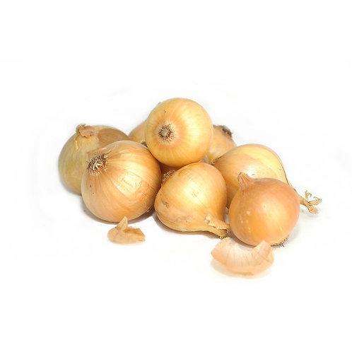 Yellow onions - 3lbs bag - Organic