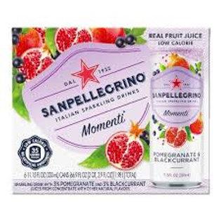San Pellegrino Pomegranate and Black Currant - 6 pack
