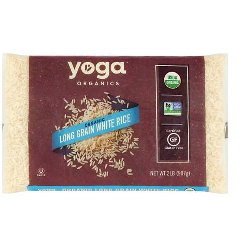 Yoga Organics, Long Grain White Rice