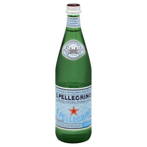 San Pellegrino Sparkling Natural Mineral Water - 33oz