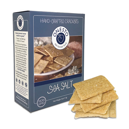 Onesto Crackers Sea Salt