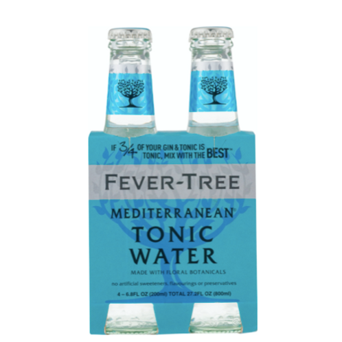 Fever-Tree Mediterranean Tonic - 4PK